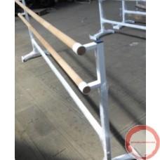 Portable Ballet double wood horisontal barres # 1
