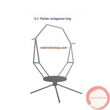 Parter octagonal ring.