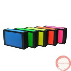 Beard cigar box neon color