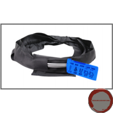 Sling rope round circular hoop with inspection window in the black cover.  ( 2 Tons )