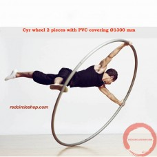 Cyr wheel 2 pieces with PVC covering Ø1300 mm (Pre-order)