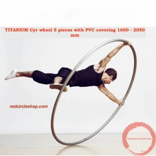 TITANIUM Cyr wheel 5 pieces with PVC covering 1600 - 2050 mm (Pre-order)