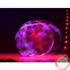 LED Cyr wheel 5 pieces with PVC covering ( Free bag for Cyr Wheel with purchase included )