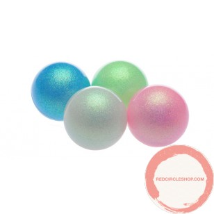 PVC Russian Ball Pearl Glitter Color 72 mm