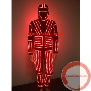 LED dancing costume (warrior of the light)