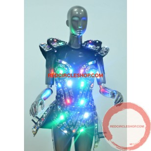 LED jewel laser dancing costume (contact for pricing)