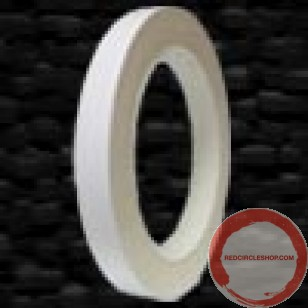 sold out  plastic tape white 12.7mm 32.9m roll