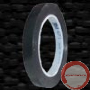 sold out  plastic tape black 12.7mm 32.9m roll