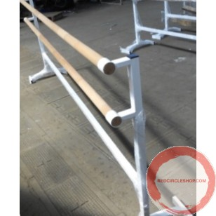 Portable Ballet double wood horisontal barres # 1