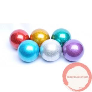 PVC Russian ball glitter color 72mm