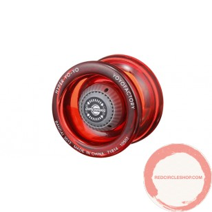 Hyper Yo-Yo dial Mars Clear Red