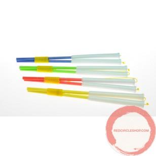 Plastic hand stick
