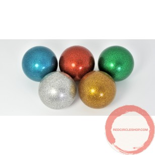 RF stage ball glitter color 100mm