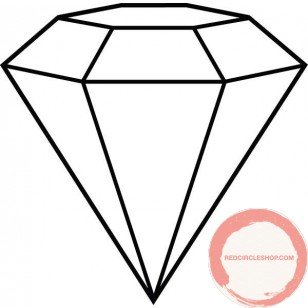 Aerial Diamond shapes ( Customized on request )