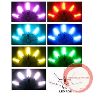 Poi Fan LED verious colours