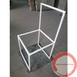 Stacking chairs for handbalancing act