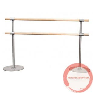 Portable Ballet double wood horizontal barres # 2