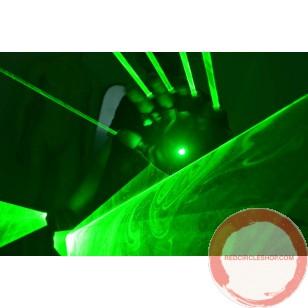 Laser gloves