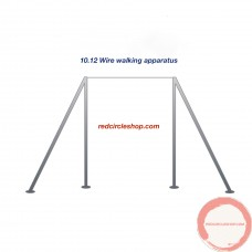 Wire walking apparatus. Beginners level. PRICE UPON REQUEST
