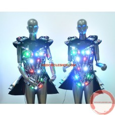 LED jewel laser dancing costume