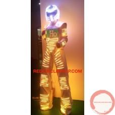 LED dancing costume