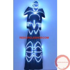 LED luminous stilting costume 2