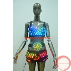 LED dancing costume (Bikini)