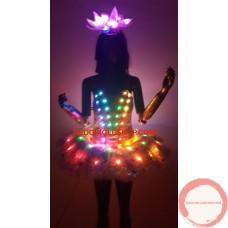 LED dancing costume (colours)