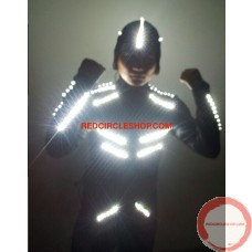 LED dancing costume (Night Shade) (contact for pricing)