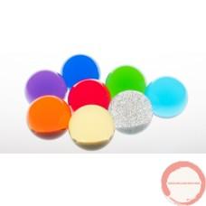 Crystal ball 76mm color