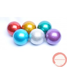 PVC Russian ball glitter color 72mm