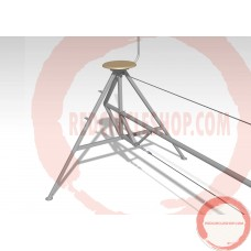 Self standing Tight wire with adjustable height