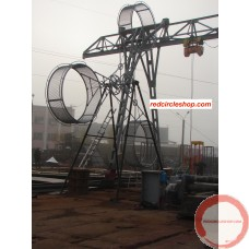 PRICE ON REQUEST. The American wheel of death (2 ор 3 arms swing) on the supports