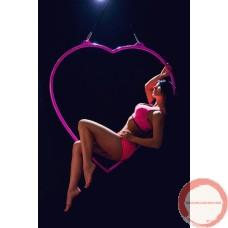 Aerial Lyra Heart shape