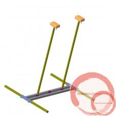 Handbalancing canes, customized