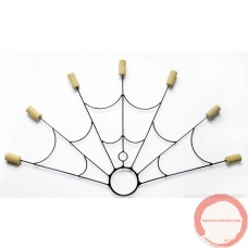 Poi Fire Fans (7 headed fan) Ceramic cord