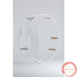 Rhönrad / German Wheel / Demountable - 4 pieces by Zimmermann / (CONTACT US FOR QUOTE)