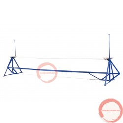 Self standing Tight wire with adjustable height (PRICE ON REQUEST)