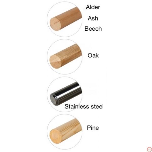 Portable Ballet double wood horizontal barres # 2  - Photo 8