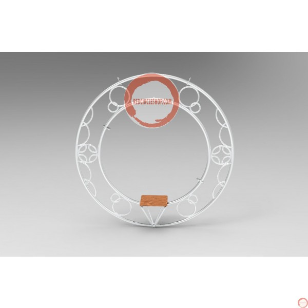 Aerial ring / hoop with additional supports and seat (Customized, request your free quote) - Photo 16