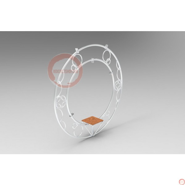 Aerial ring / hoop with additional supports and seat (Customized, request your free quote) - Photo 14