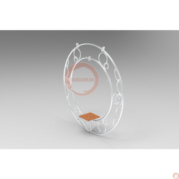 Aerial ring / hoop with additional supports and seat (Customized, request your free quote) - Photo 18