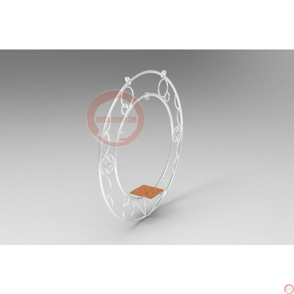 Aerial ring / hoop with additional supports and seat (Customized, request your free quote) - Photo 19