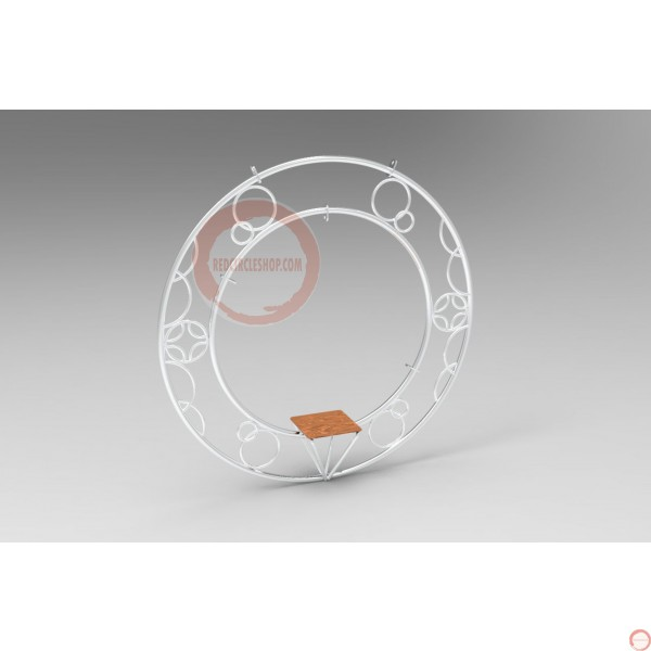 Aerial ring / hoop with additional supports and seat (Customized, request your free quote) - Photo 20