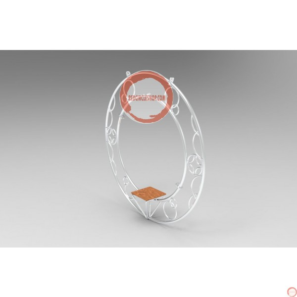 Aerial ring / hoop with additional supports and seat (Customized, request your free quote) - Photo 15