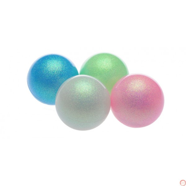 PVC Russian Ball Pearl Glitter Color 72 mm - Photo 2