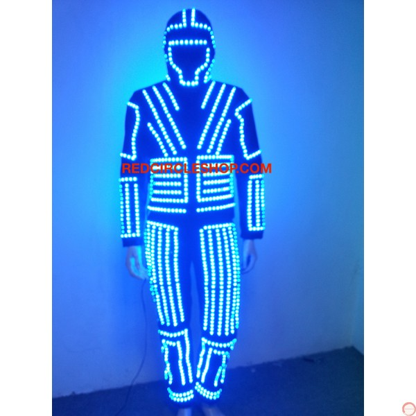 LED dancing costume (warrior of the light) - Photo 12