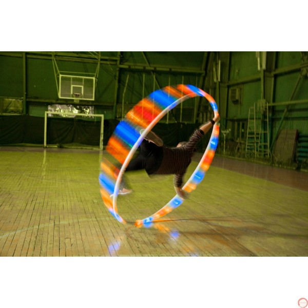 LED Cyr wheel 5 pieces with PVC covering - Photo 12