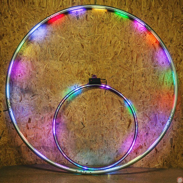 LED Cyr wheel 5 pieces with PVC covering - Photo 15