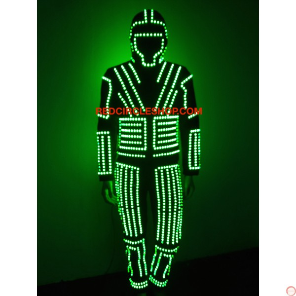 LED dancing costume (warrior of the light) - Photo 9